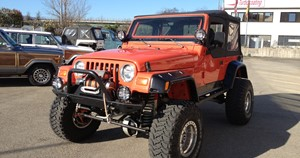 Jeep  Wrangler TJ extreme off road